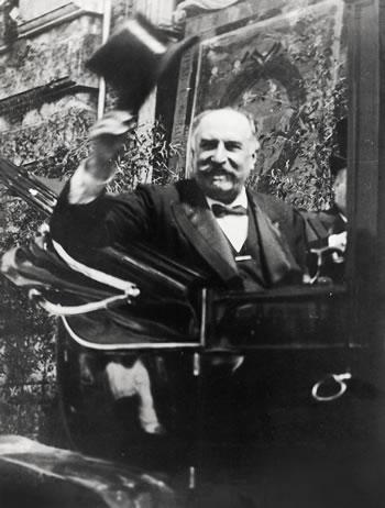 Giovanni Giolitti in carrozza