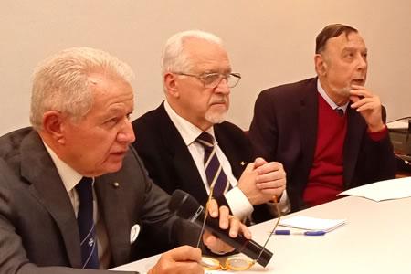 Aldo G. Ricci, Aldo A. Mola e Romano Ugolini