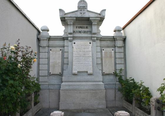 la tomba di Giovanni Giolitti