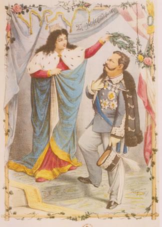 Vittorio Emanuele II a Roma