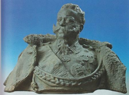 Vittorio Emanuele II Busto Saluzzo
