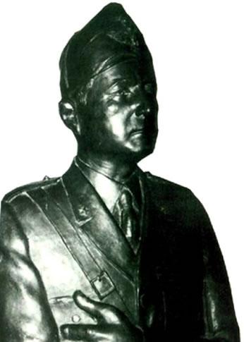 Il busto del Maresciallo Messe - foto da www.quimesagne.it