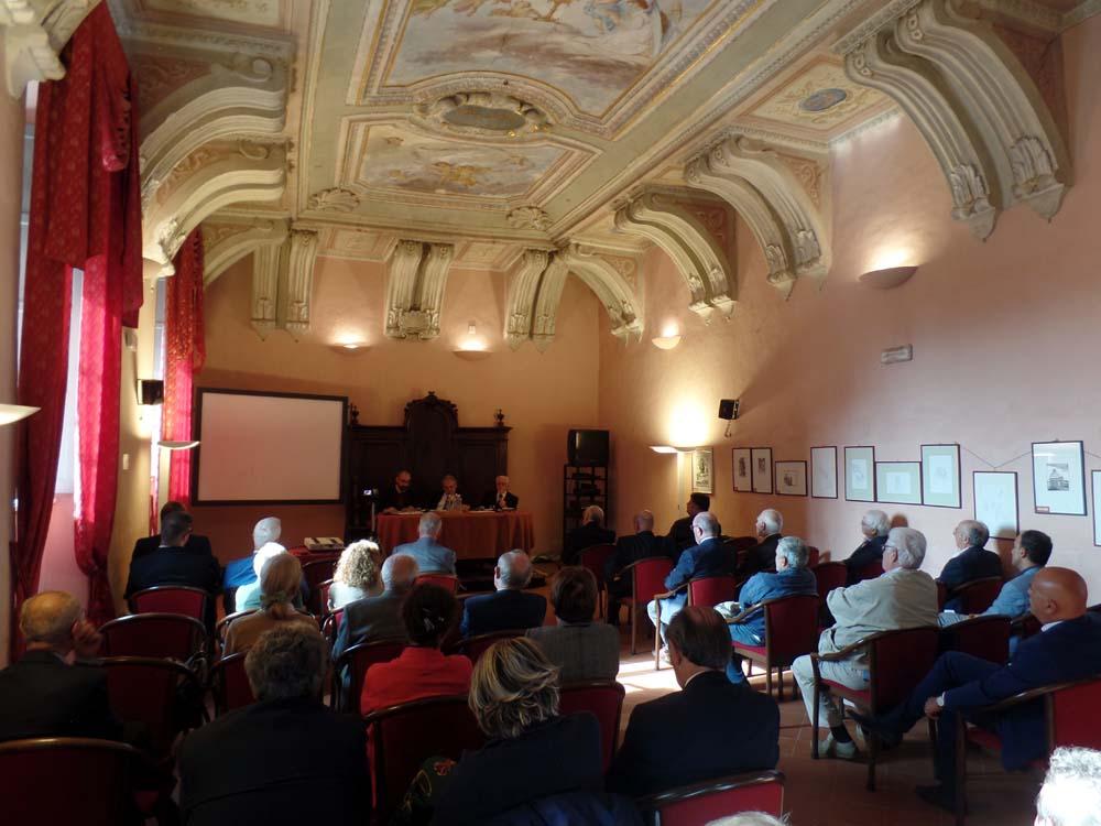 La sala Beata Paola della Casa di Spiritualità Regina Montis Regalis di Vicoforte, sede del convegno