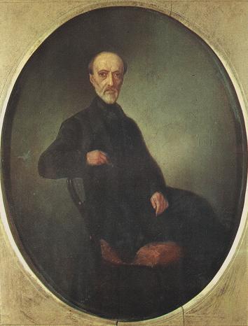 Giuseppe Mazzini, ritratto di L. Zuccoli - Museo del Risorgimento - Milano