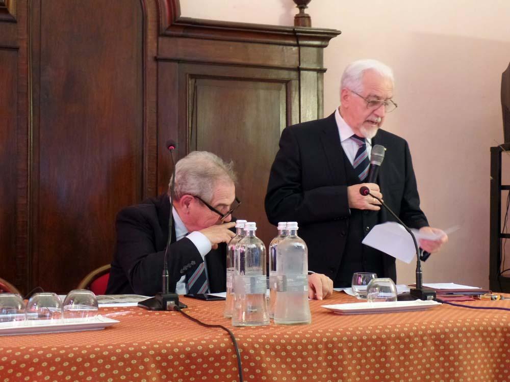Aldo Mola e Giuseppe Catenacci, Vicoforte 8 ottobre 2019